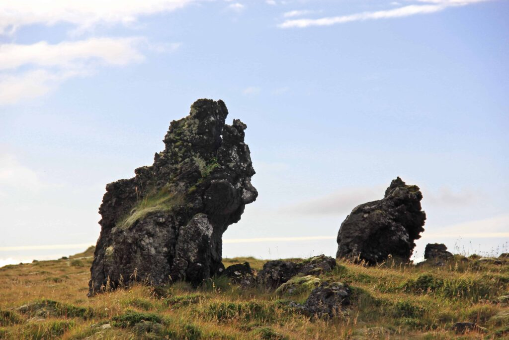Trolls cliffs in Iceland