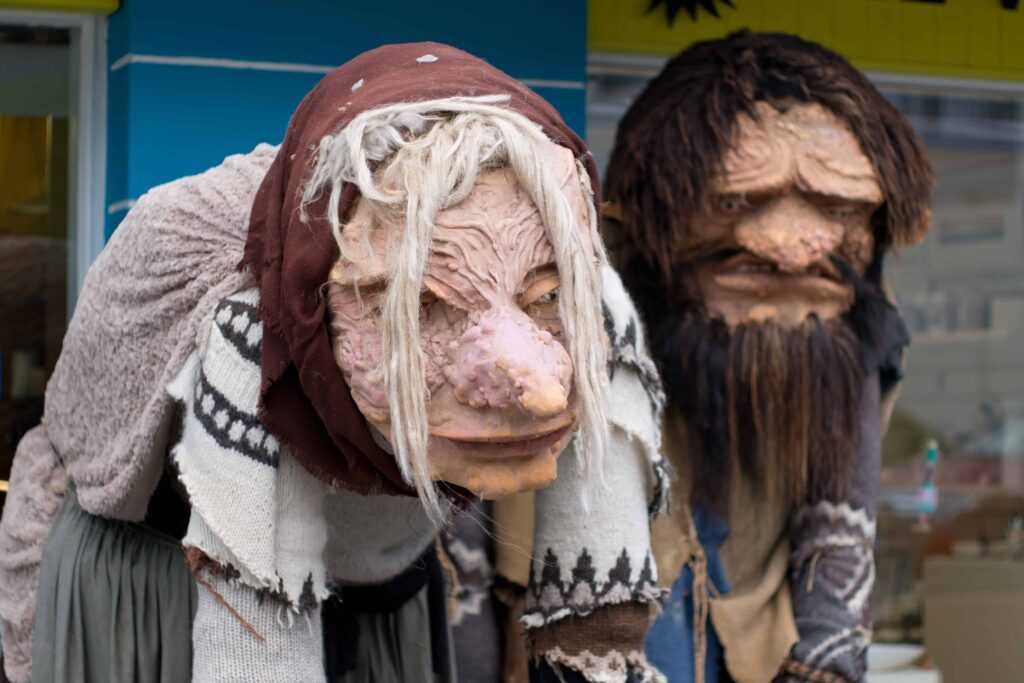 Trolls in Iceland