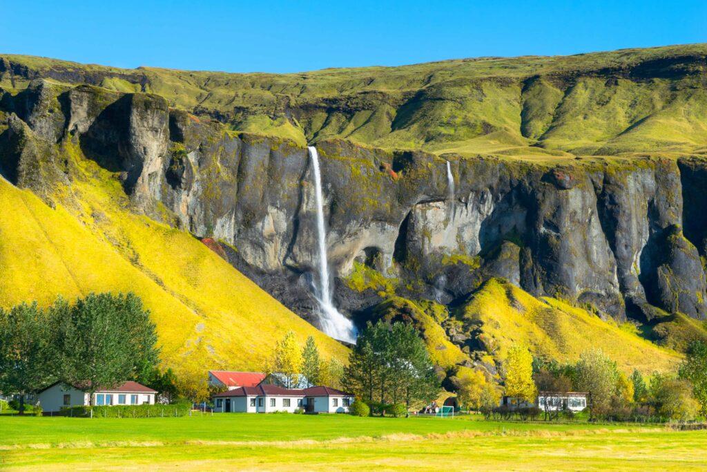Foss á síðu waterfall in south Iceland