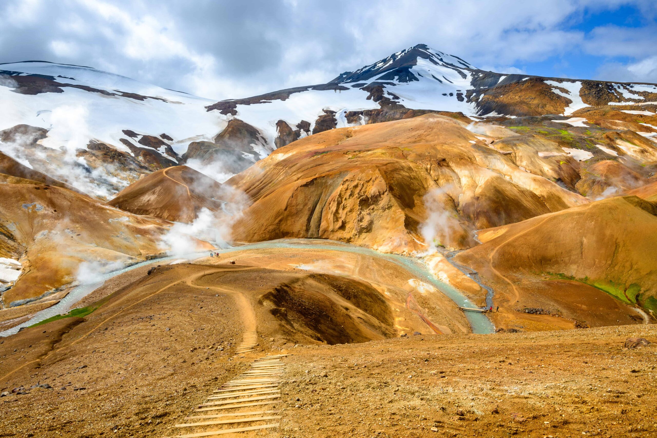 Kerlingarfjöll Mountains in the highlands of Iceland