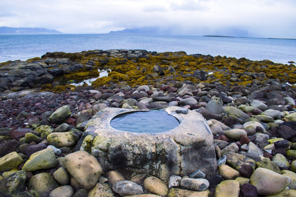 Kvika - hot spring footbath