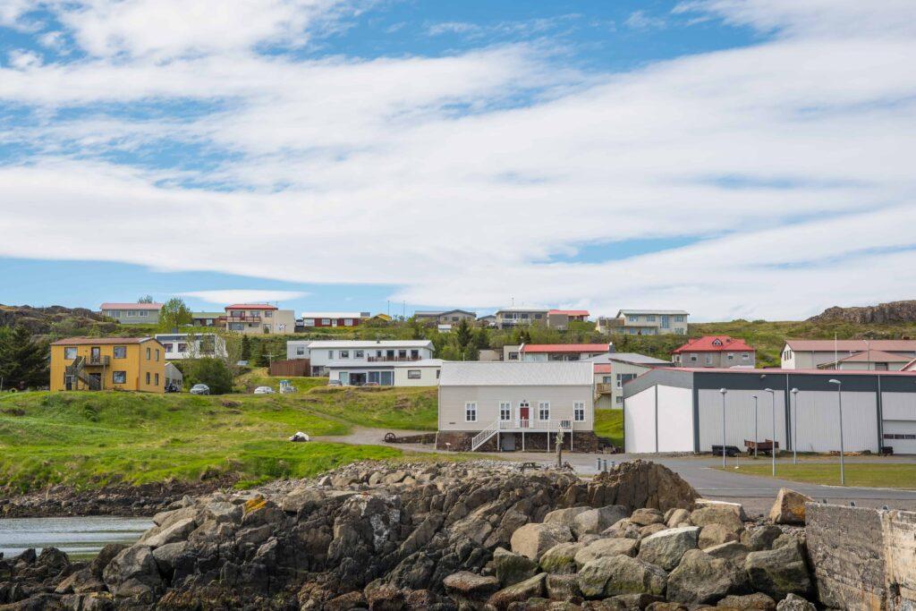 Vopnafjörður village in East Iceland