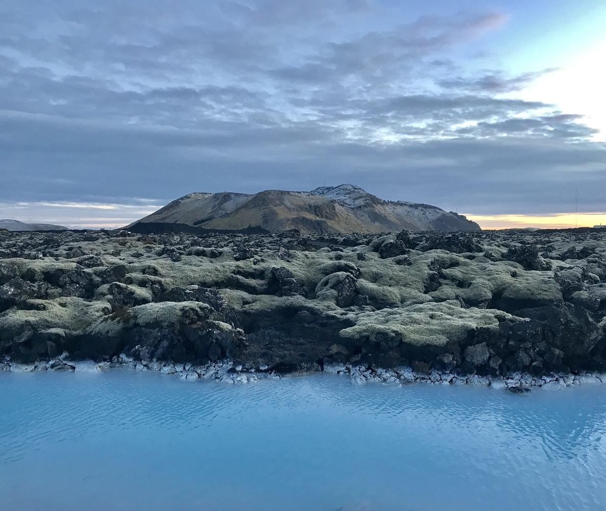 Þorbjörn mountain in Grindavík Reykjanes Peninsula
