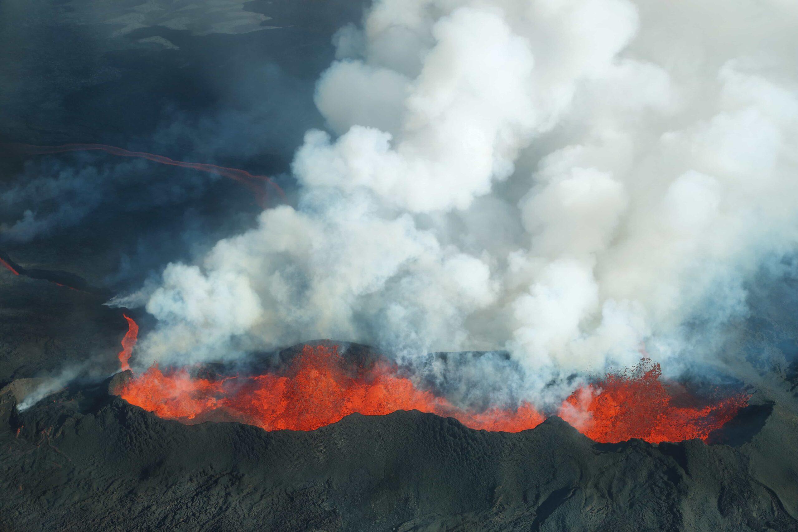 Bárðarbunga volcano in Iceland