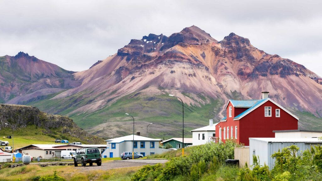 Borgarfjörður Eystri in East Iceland