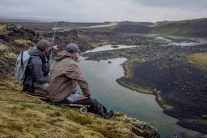 Fishing in Iceland