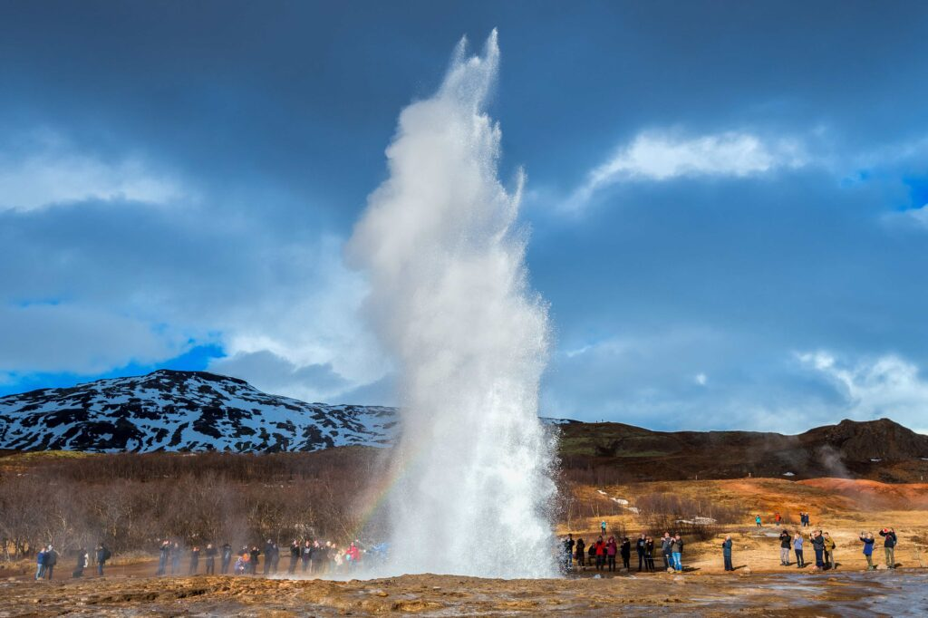 Geysir geothermal area - Golden Circle