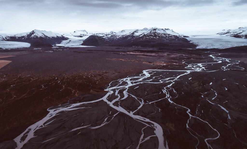 Hofsjökull glacier