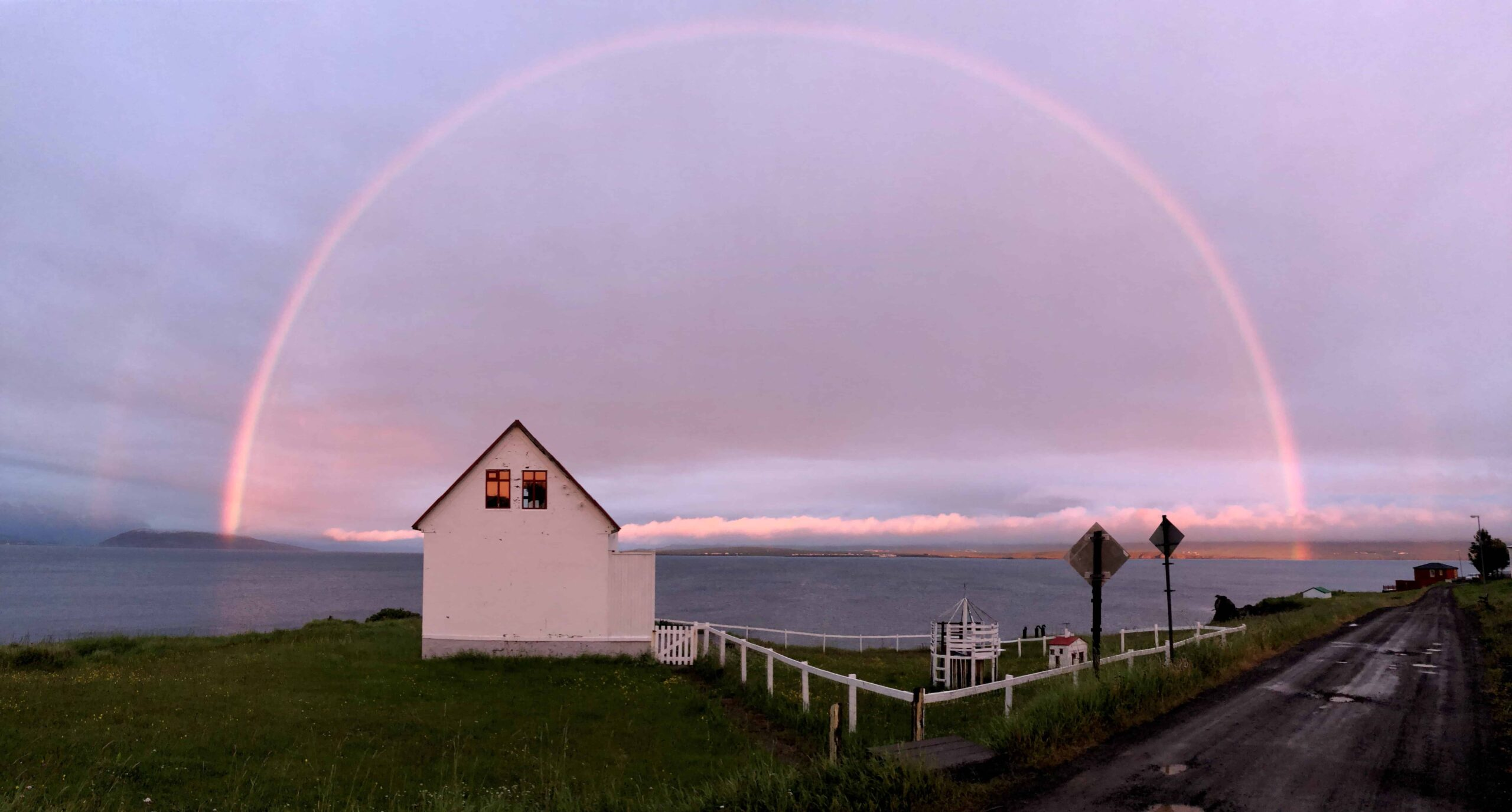 Hrísey island in north Iceland
