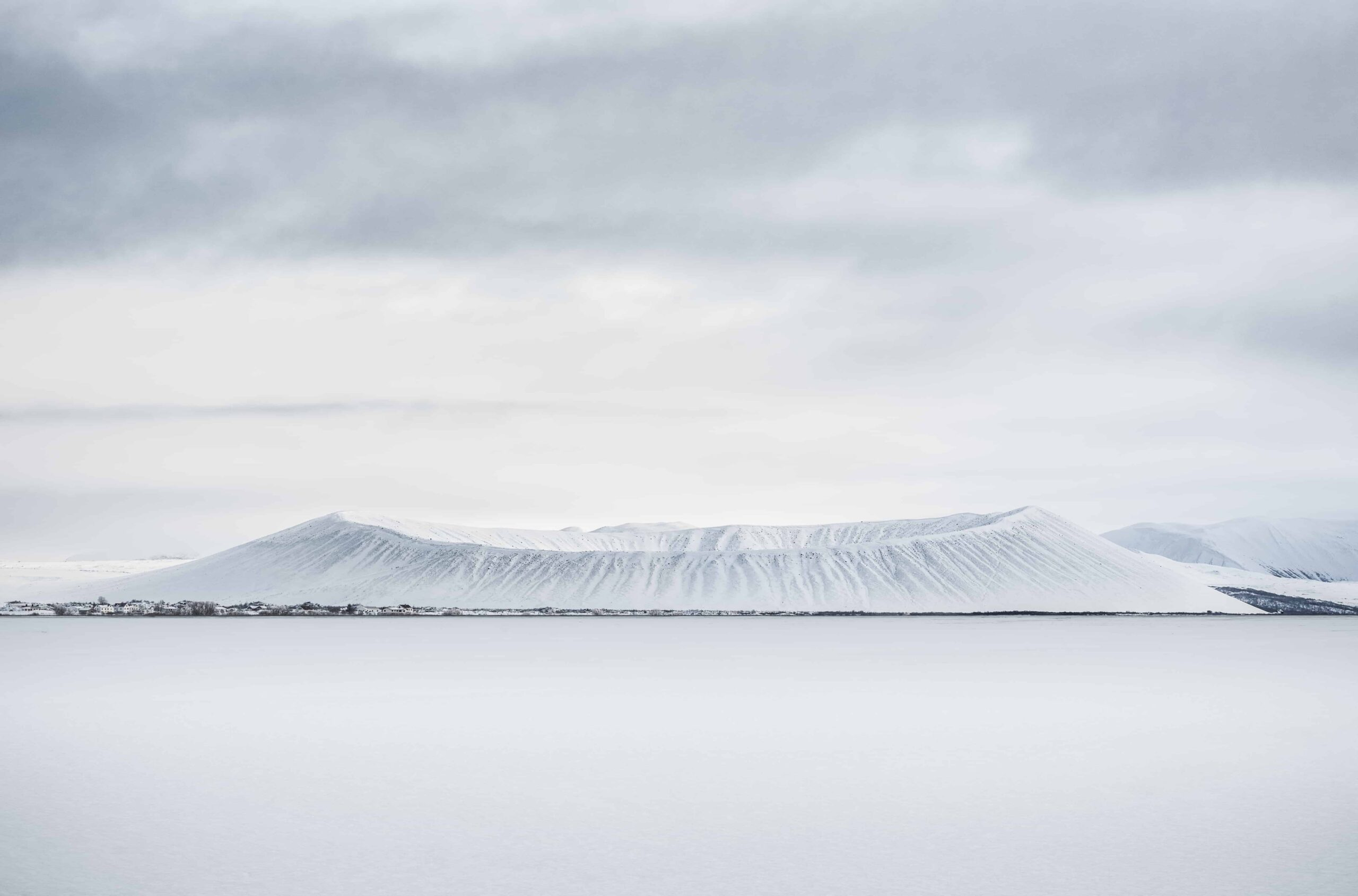 Hverfell - Hverfjall in north Iceland