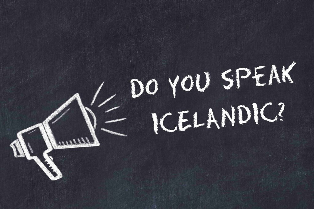 do you speak Icelandic?