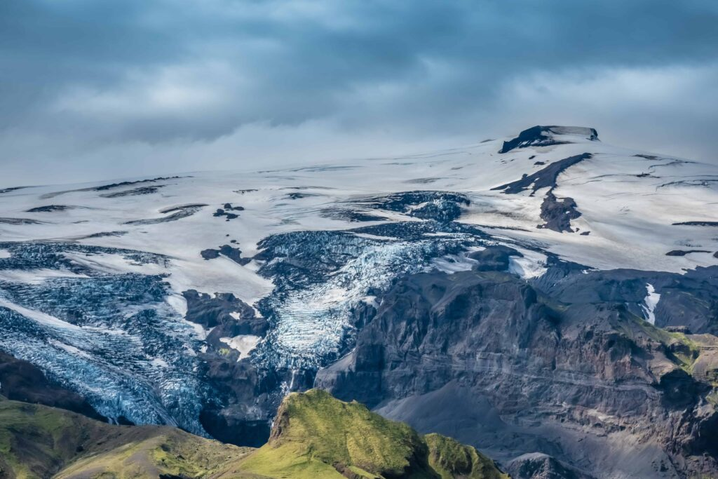 Katla Volcano and glacier