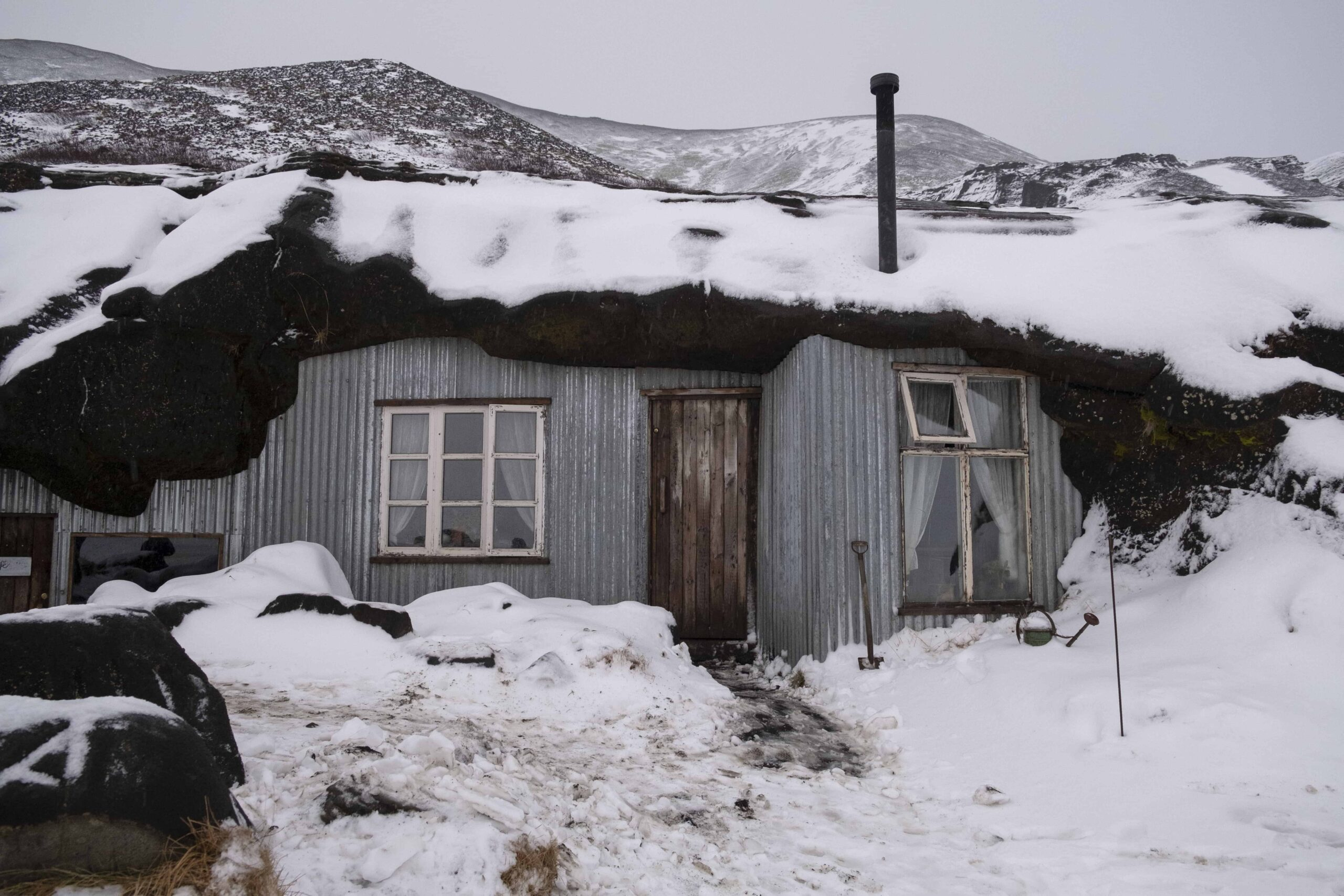Ingólfshöfði in south Iceland