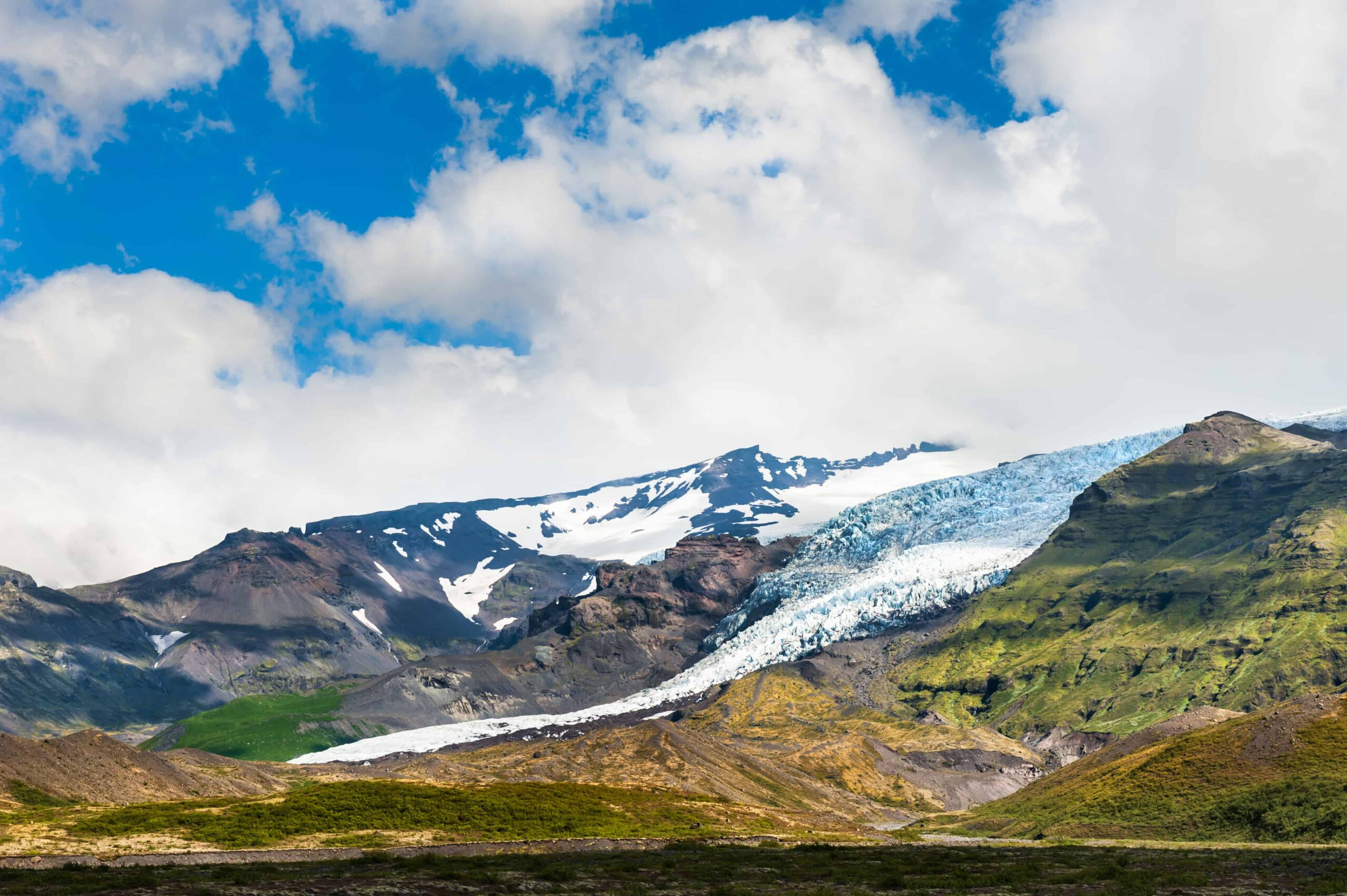 Skaftafell Nature Reserve in south Iceland