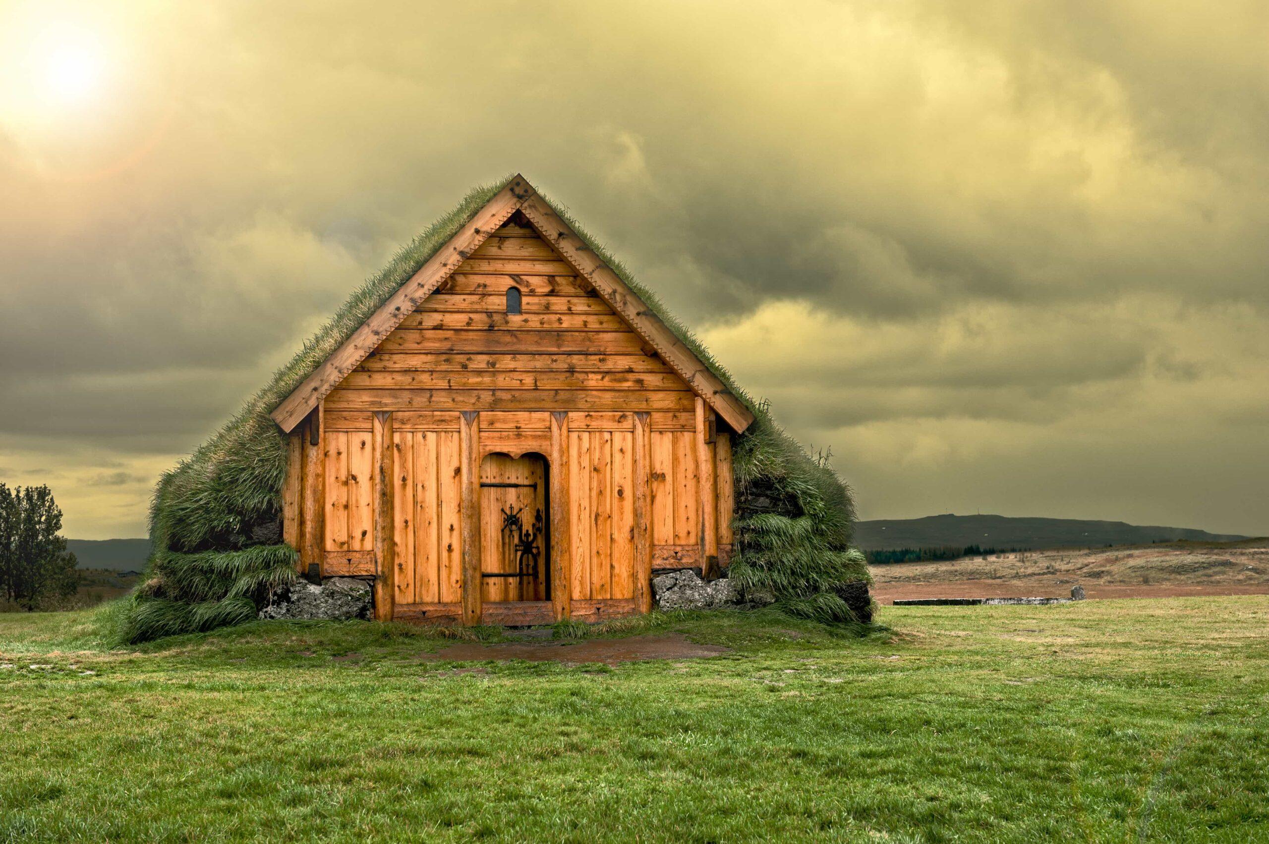 Þorláksbúð turf house