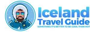 Iceland Travel Guide logo, sometimes it's better to be cool than hot