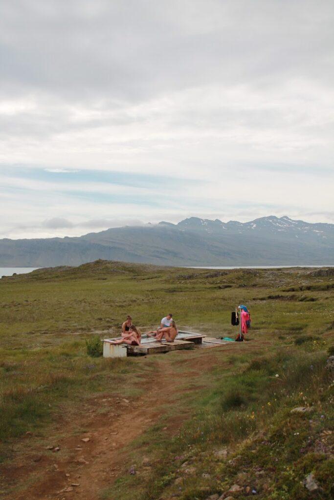 Djúpavogskörin hot springs in East Iceland