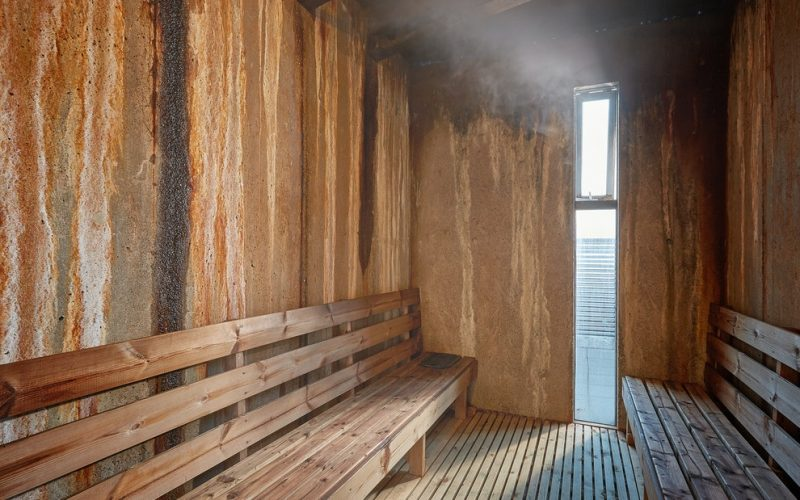steam spa at Laugarvatn Fontana