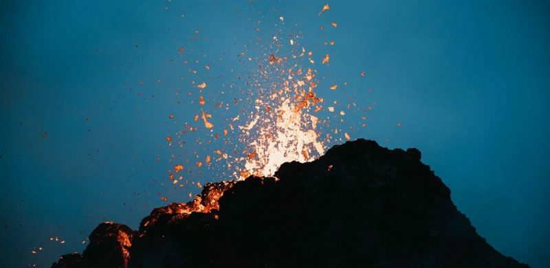 Active Volcano Tour in Iceland