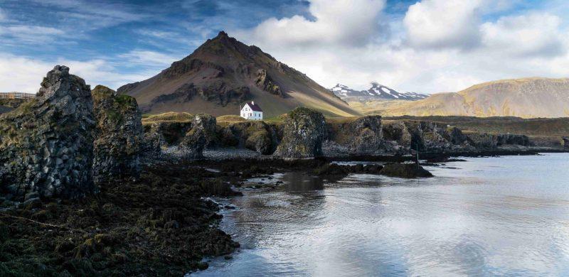 Arnarstapi in Snæfellsnes Peninsula