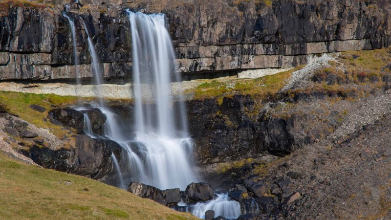 Bergárfoss waterfall - Hofn i Hornafirdi