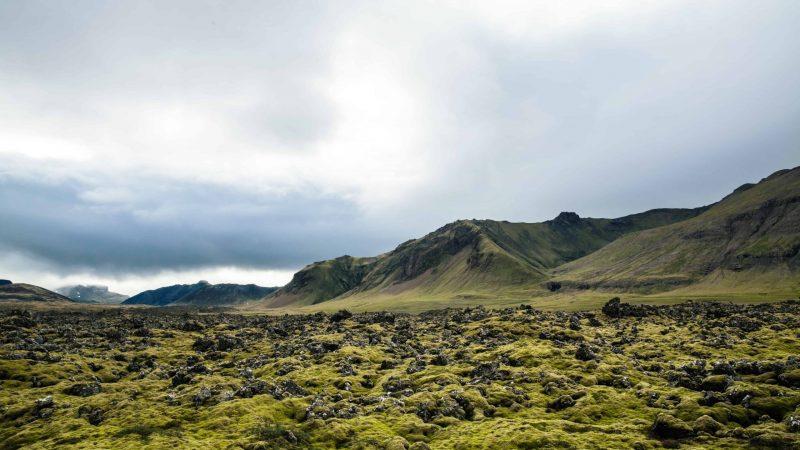 Berserkjahraun lava fields in Snæfellsnes Peninsula
