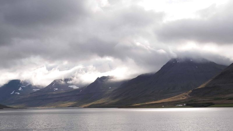 fjords in the Westfjords of Iceland