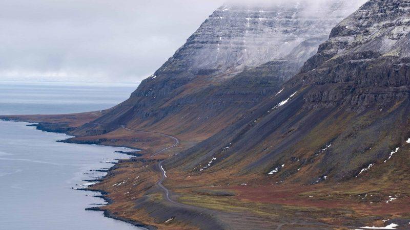 Djúpavík in Westfjords of Iceland
