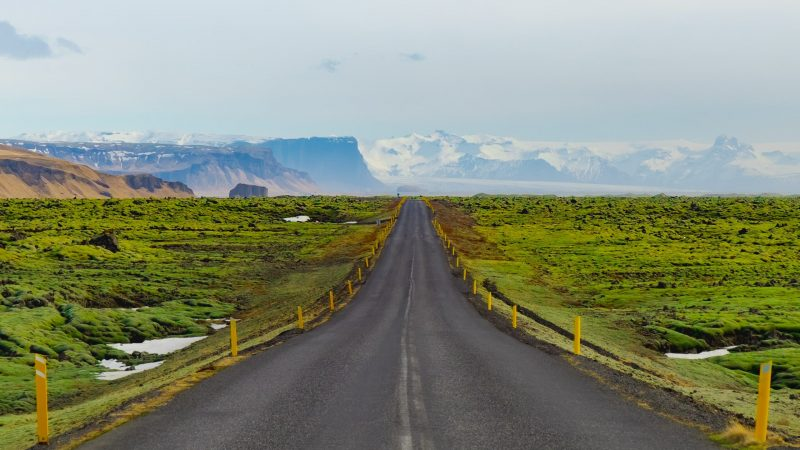 Eldhraun lava fields, south Iceland lava fields, road in Iceland, self driving in Iceland