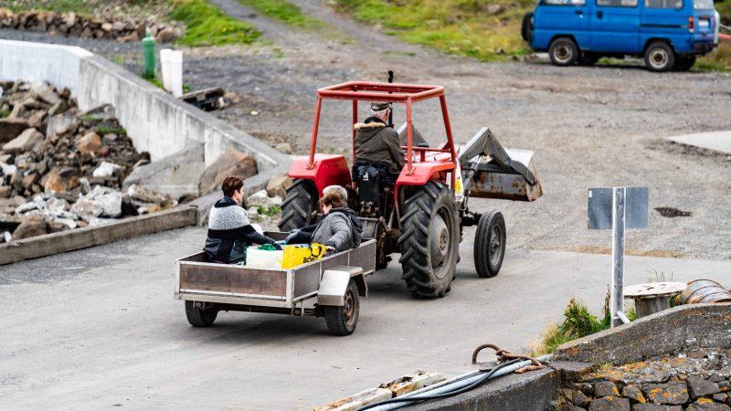 Flatey Island in west Iceland