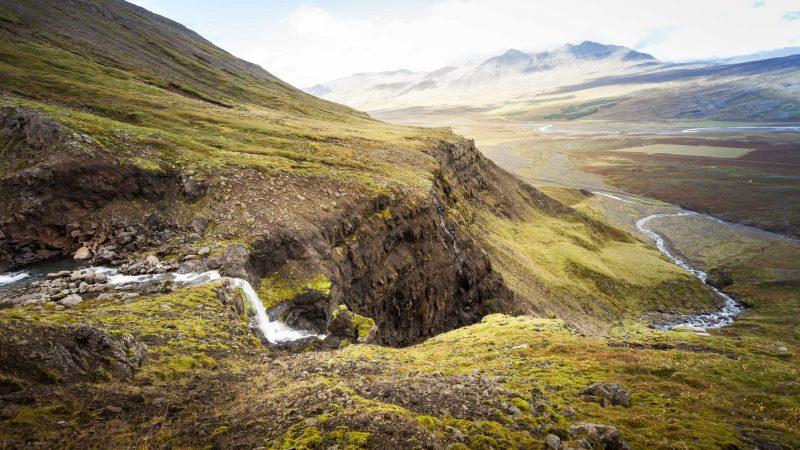 Flögufoss waterfall - East Iceland