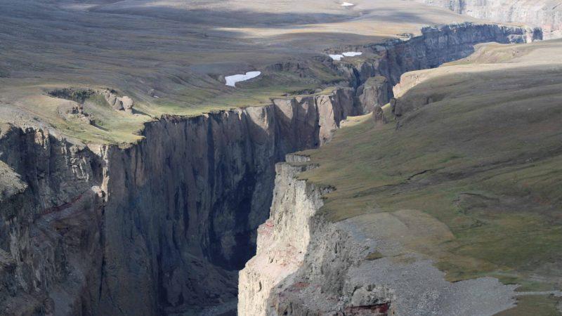 Hafrahvammagljúfur canyon in East Iceland
