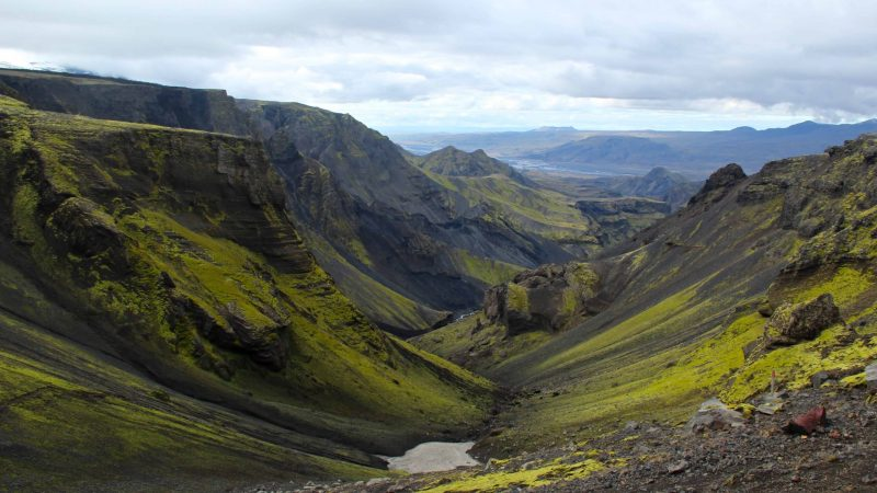 Hiking in Þórsmörk