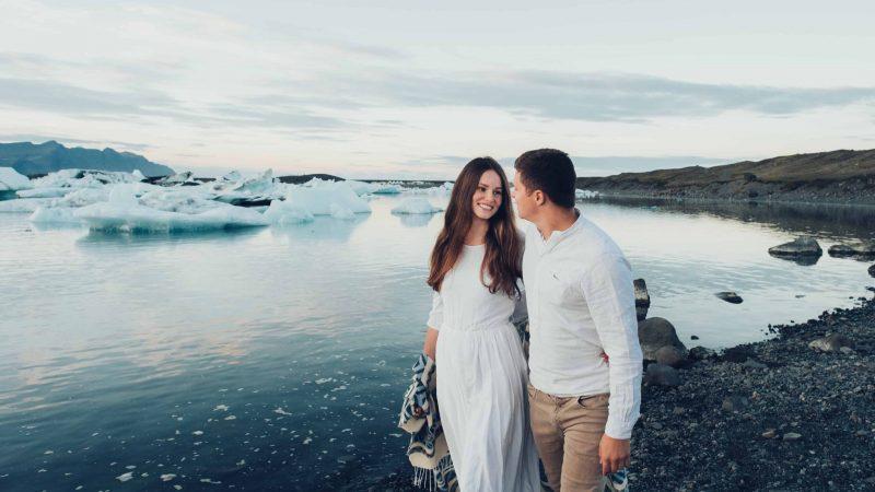 Honeymoon in Iceland, Jokulsarlon glacier lagoon