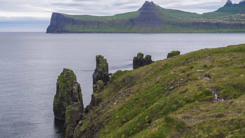 Hornstrandir Nature Reserven in the Westfjords of Iceland