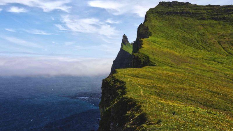 Hornstrandir Nature Reserve in Westfjords of Iceland