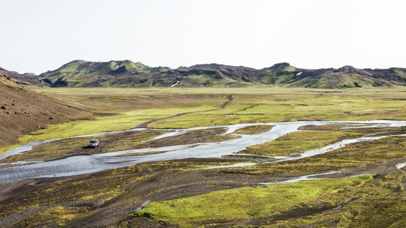 Highland Super Jeep Excursion in south Iceland