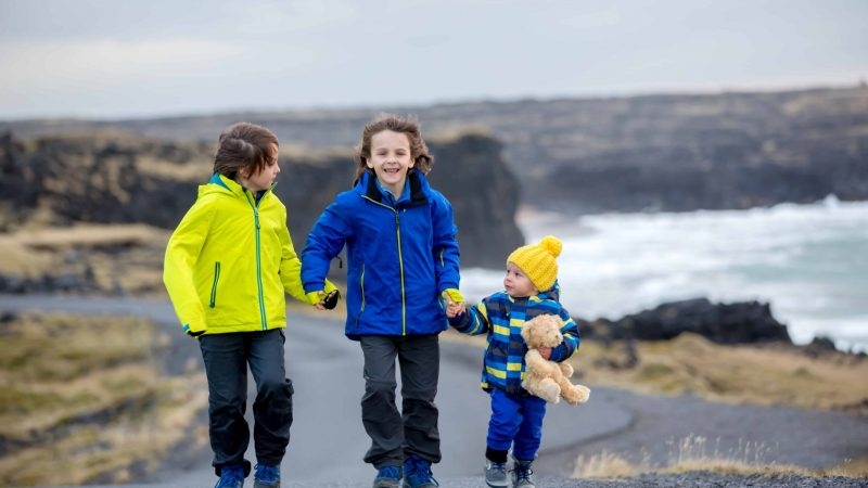Iceland Family Travel, kids in Iceland