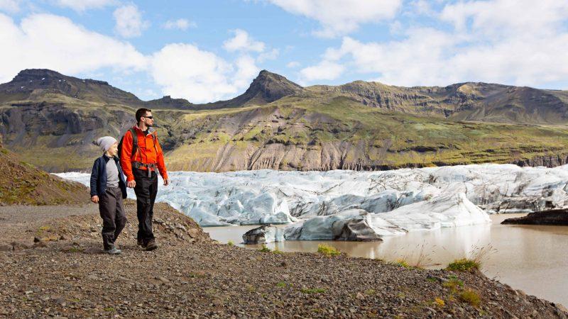 Iceland Family Travel in Skaftafell Nature Reserve