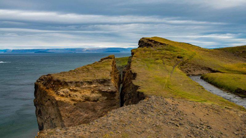 Ketubjörg cliffs in north Iceland