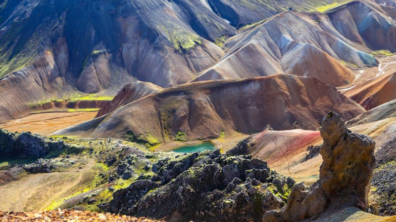 Landmannalaugar in the highlands of Iceland