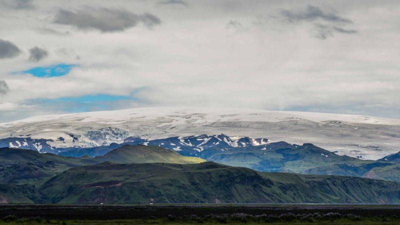 Mýrdalsjökull glacier - south Iceland