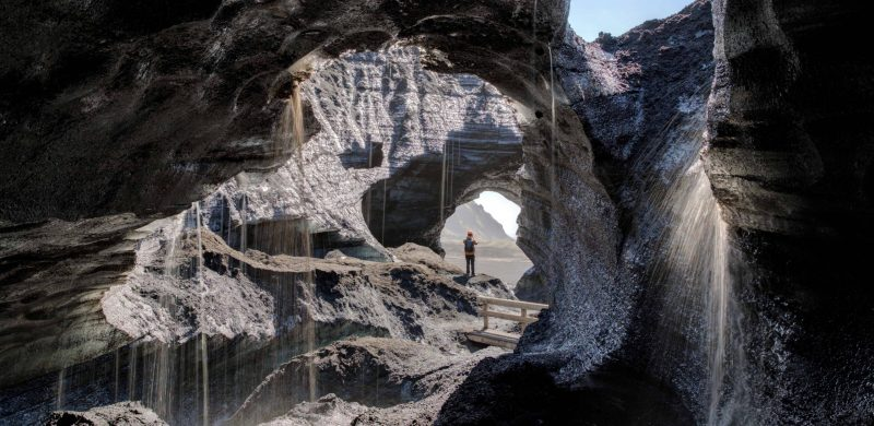 Photography in Iceland - Katla Volcano Ice Cave from the inside