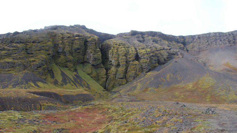 Rauðfeldsgjá Gorge in Snæfellsnes Peninsula