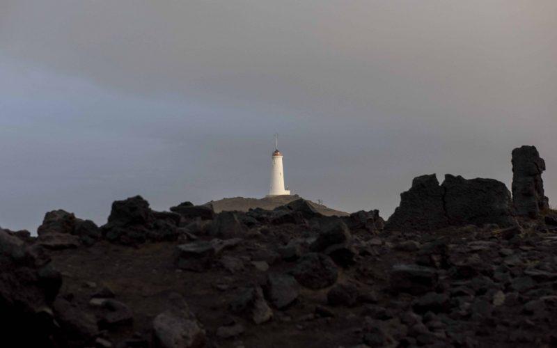 Reykjanesviti in Reykjane Peninsula