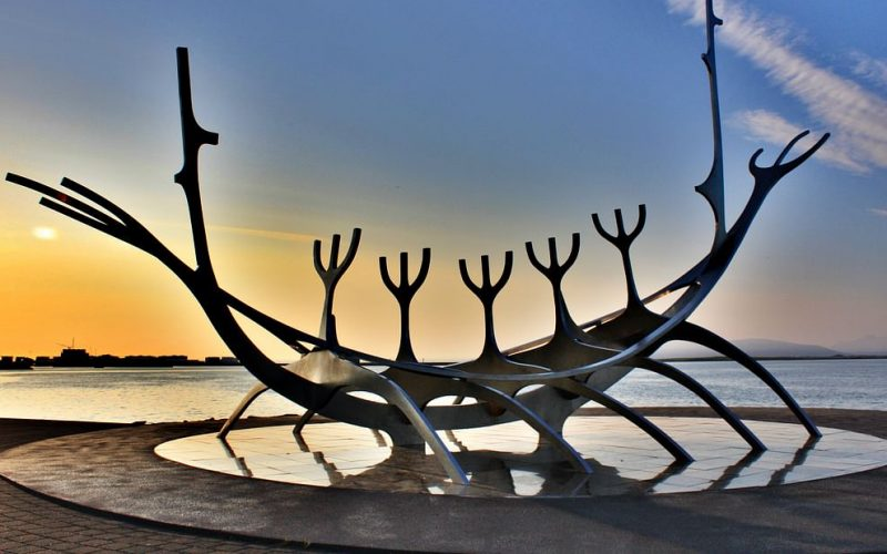 the sun voyager on the Reykjavik Private Sightseeing tour