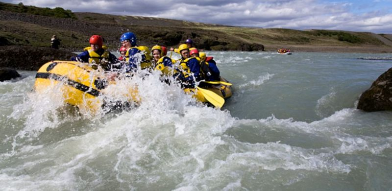 River Rafting in Hvítá - Gullfoss Canyon