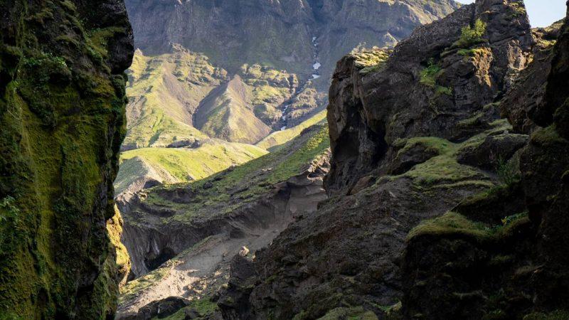 Stakkholtsgjá canyon