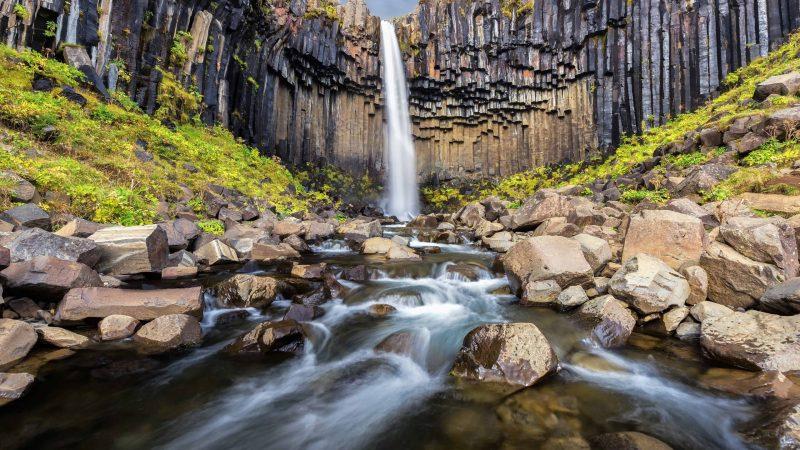 Svartifoss waterfall (1)
