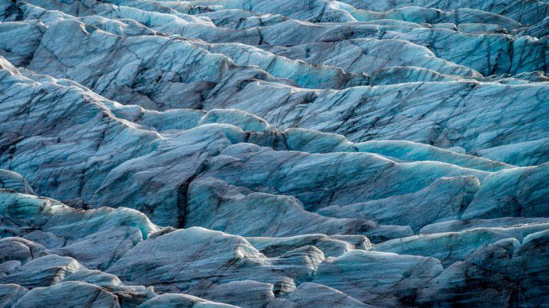 Svínafellsjokull glacier tounge - Vatnajokull glacier - Skaftafell Nature Reserve